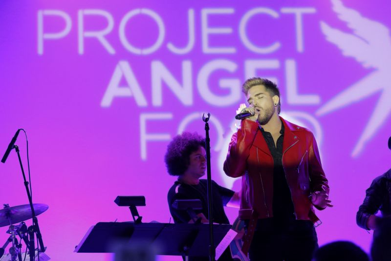 Project Angel Food 2017 Adam Lambert George Michael
