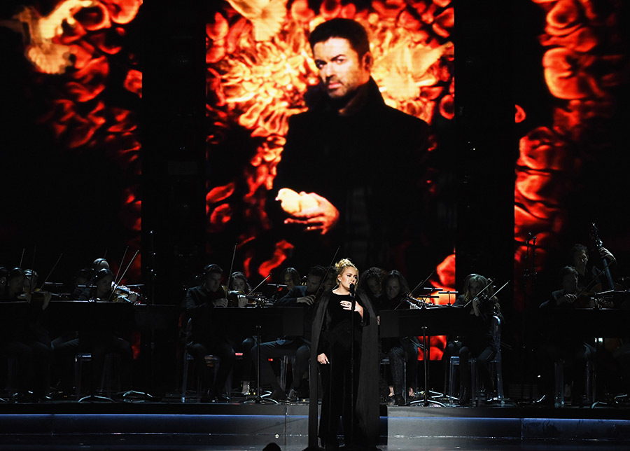 adele george michael tribute grammy 2017