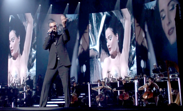 george michael feeling good videoklip